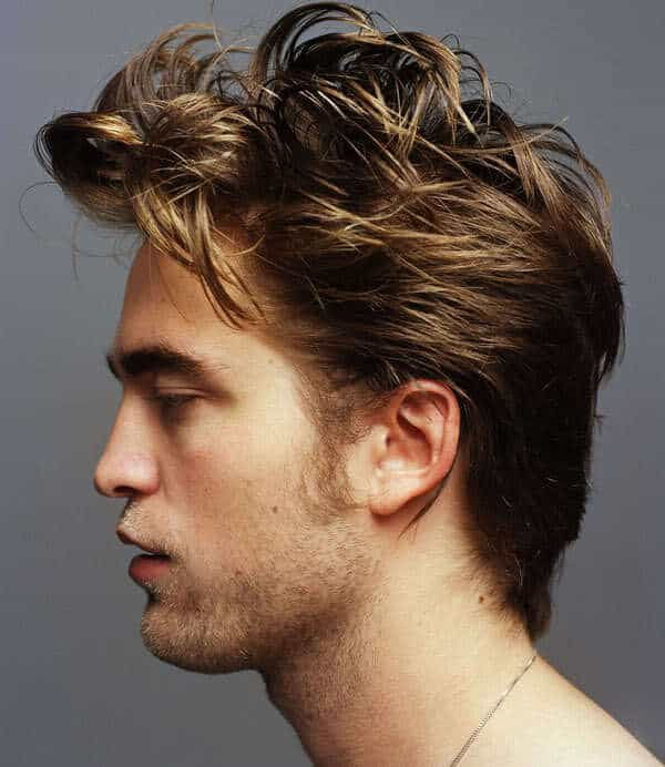 How to make Robert Pattinson hairstyle.