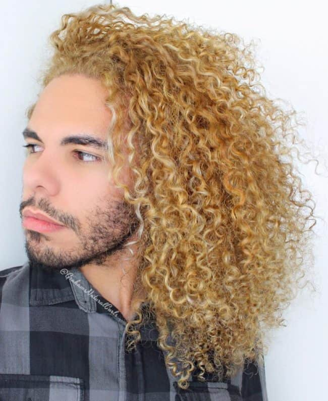 get rid of men's Frizzy Hair