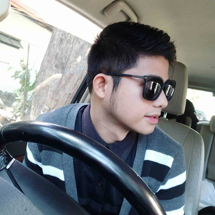 younng boy Sideburn hairstyle