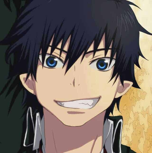 Rin Okumura Anime black hairstyle