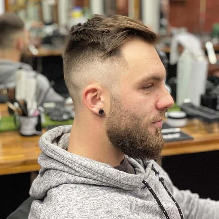 Fresh Haircut with Fade