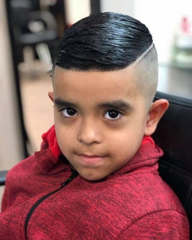 Hard Part Haircut  for 4 Year old boys