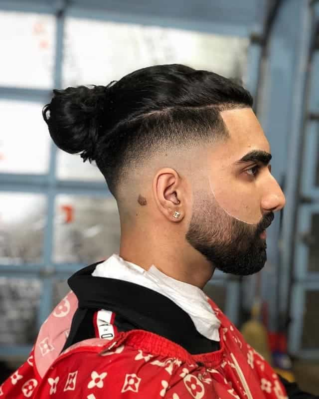 Line Up on Long Haircut