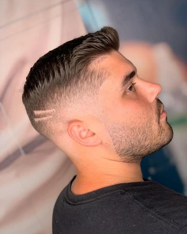 Short Taper Haircut with Fade