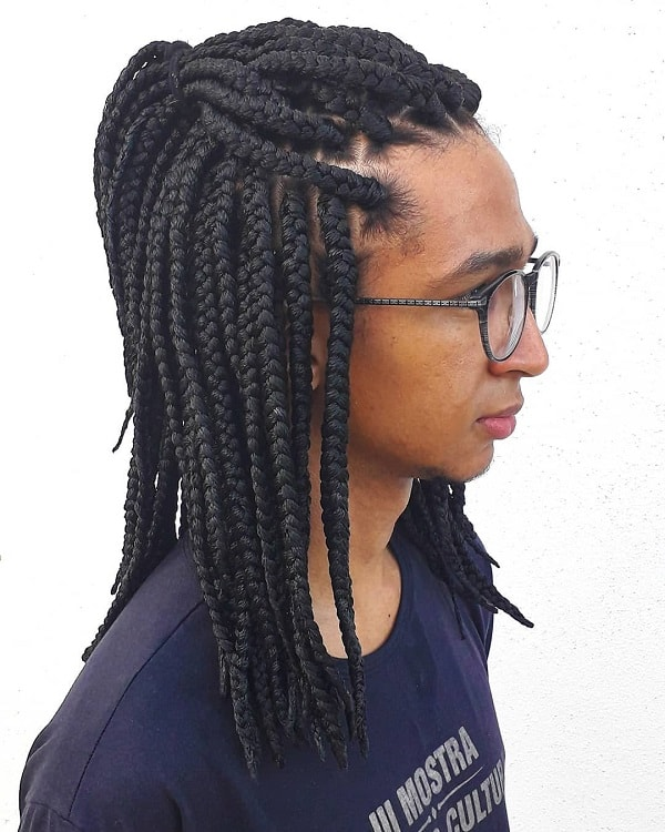box braids for men