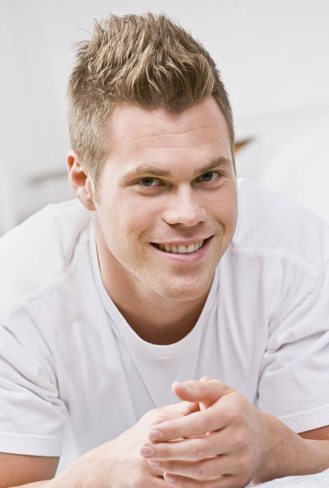 Spiked Up hairstyle for men