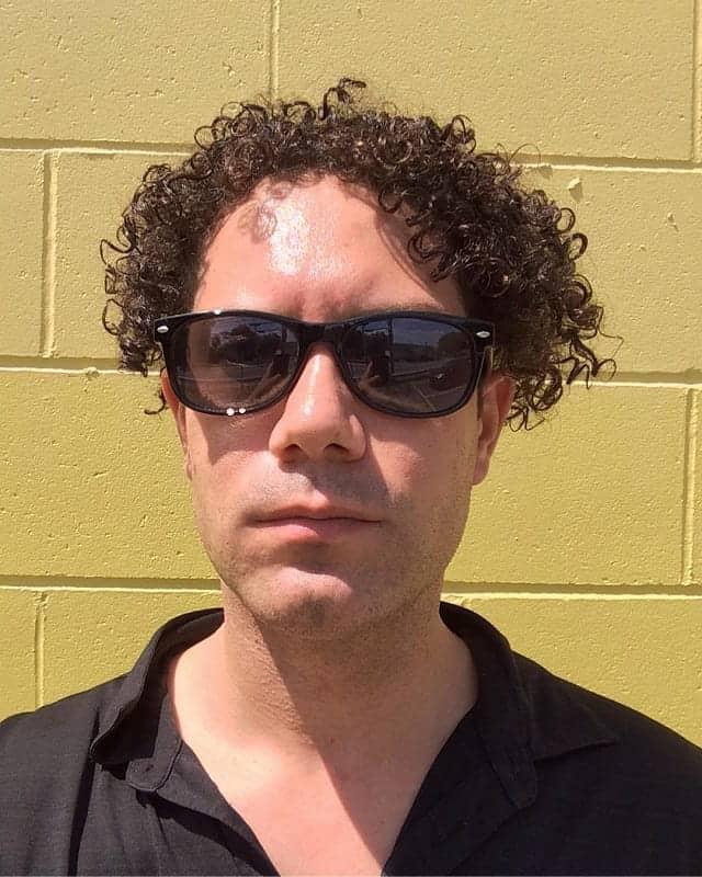 70s Men's Jheri Curl Hairstyles