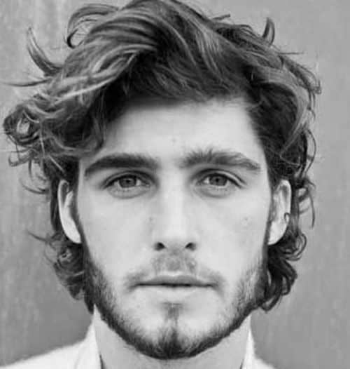 30 Handsome Long Wavy Hairstyles For Men 2020 Trends