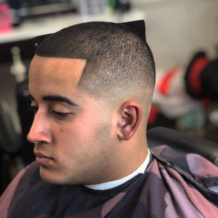 Buzz Cut with Line Up