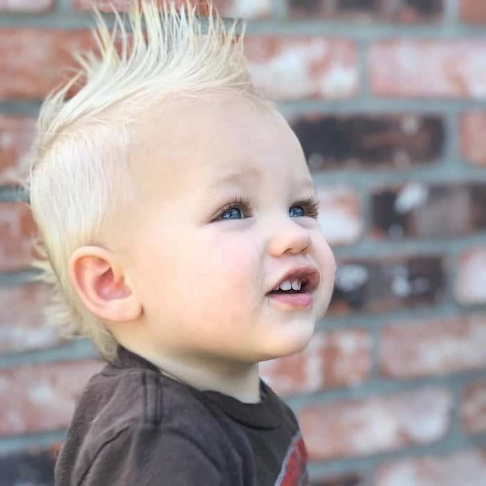 Faux Hawk for Toddler Boy