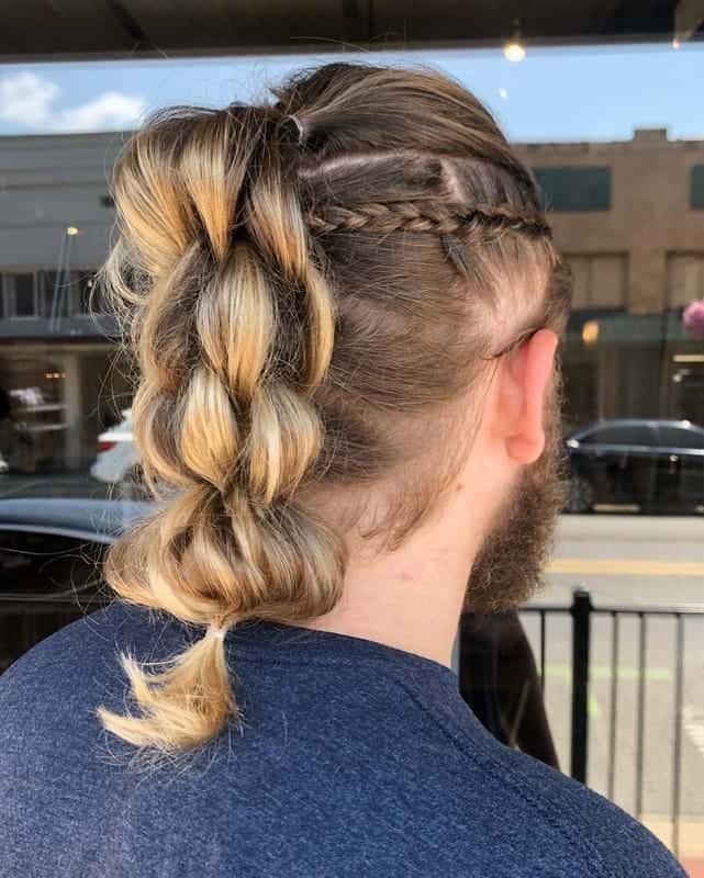 Braided Ponytail for Men