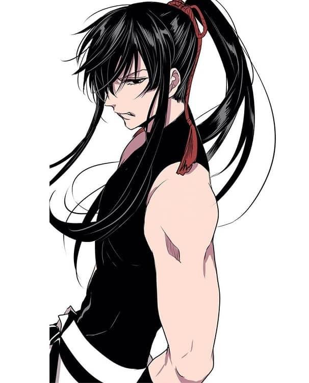 anime long hair
