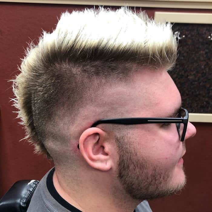 Temp Faded Mohawk
