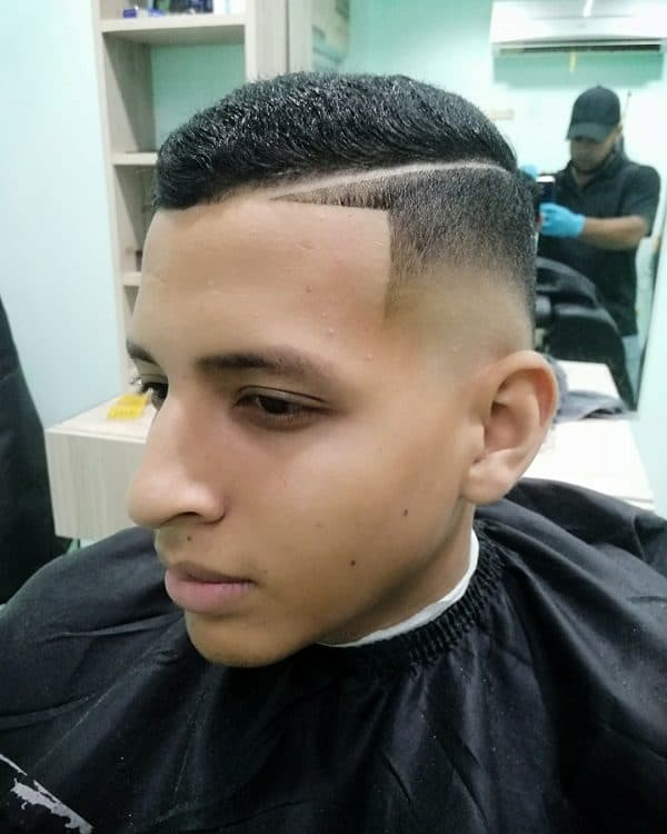Boys Fade with Part