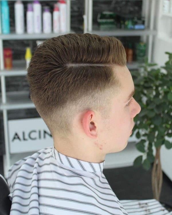 Men's Golden Brown Hair
