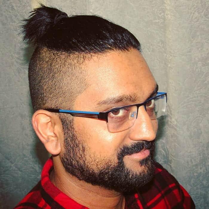 Short Hair Ponytail for Men