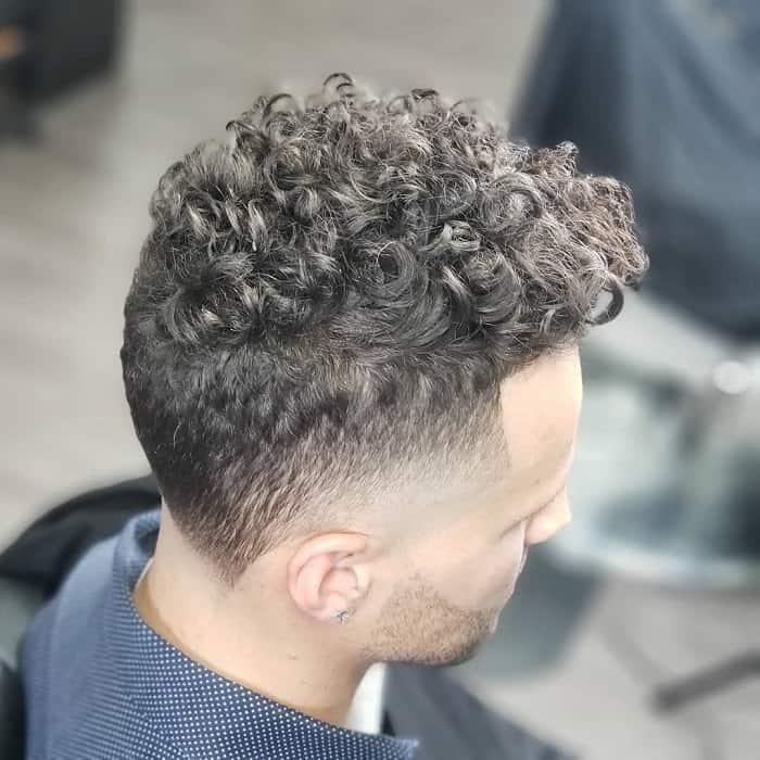 Bald Cut Temp Fade