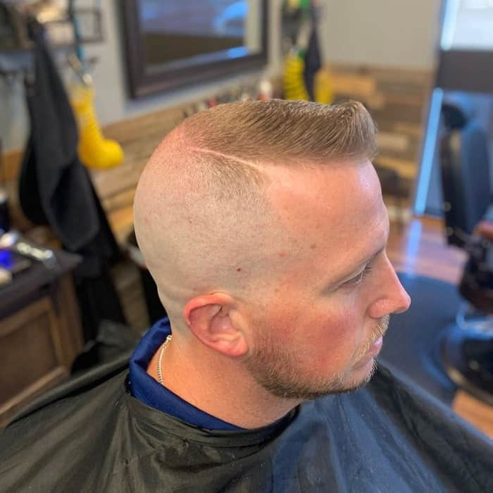 Parted Southside Fade