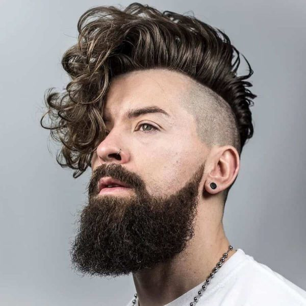 25 Best Faded Hairstyles for Men With Long On Top – Cool ...
