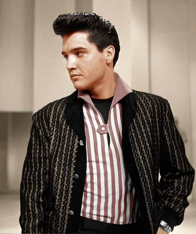 Elvis Hairstyle from the 70s