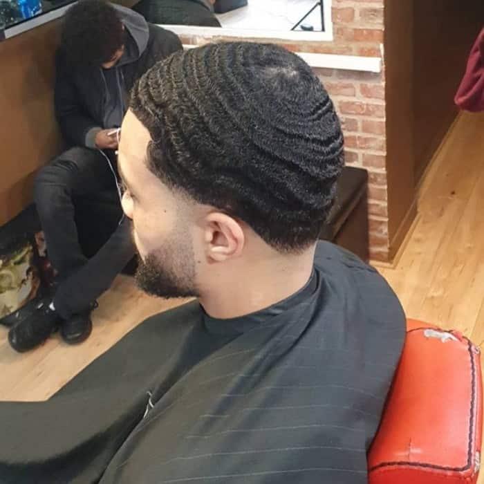 Straight Hair Waves for Men
