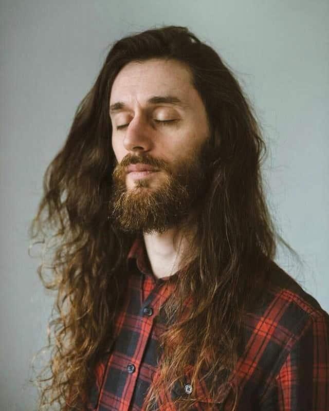 70s Hippie Hair for Men