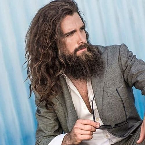 30 Epic Long Amp Wavy Hairstyles For Men Manly Ideas