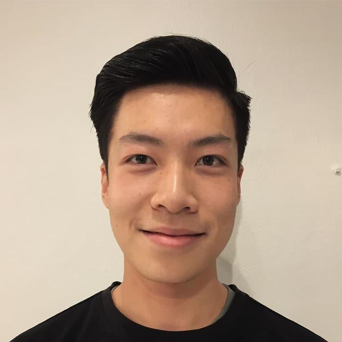 Fresh Asian Men's Haircut