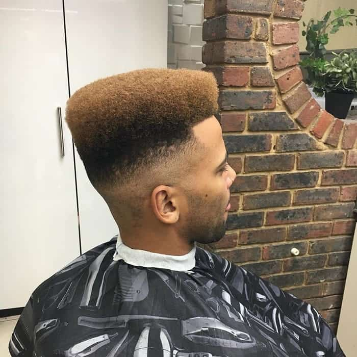 Flat Top Afro Style for Men