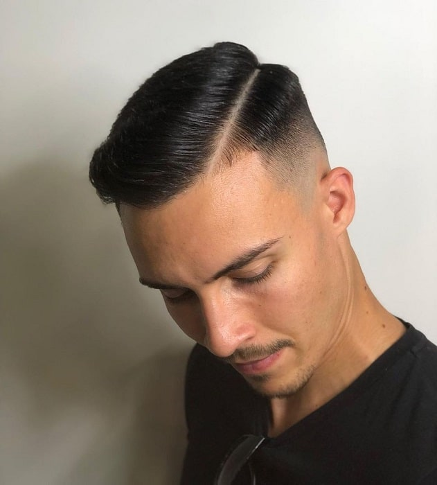 Skin Faded Part Haircut