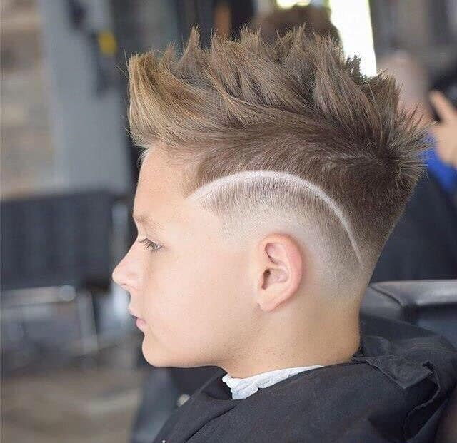 Fauxhawk with Fade