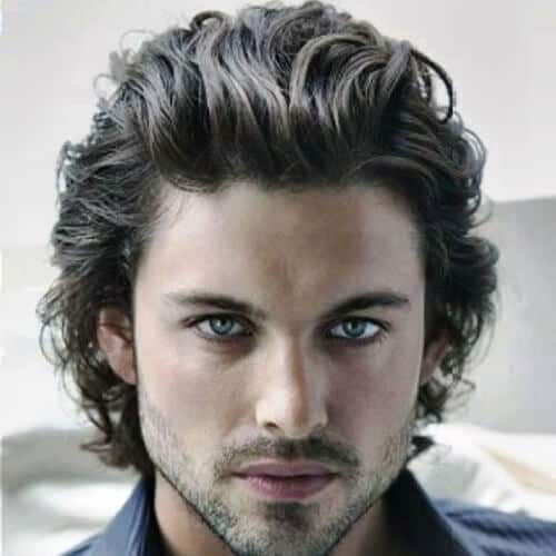 30 Epic Long Wavy Hairstyles For Men Manly Ideas