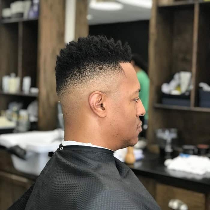 Bald Fade for Afro Hair