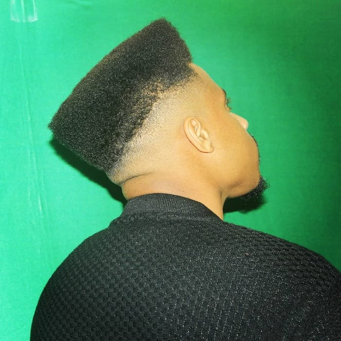 High Top Bald Fade