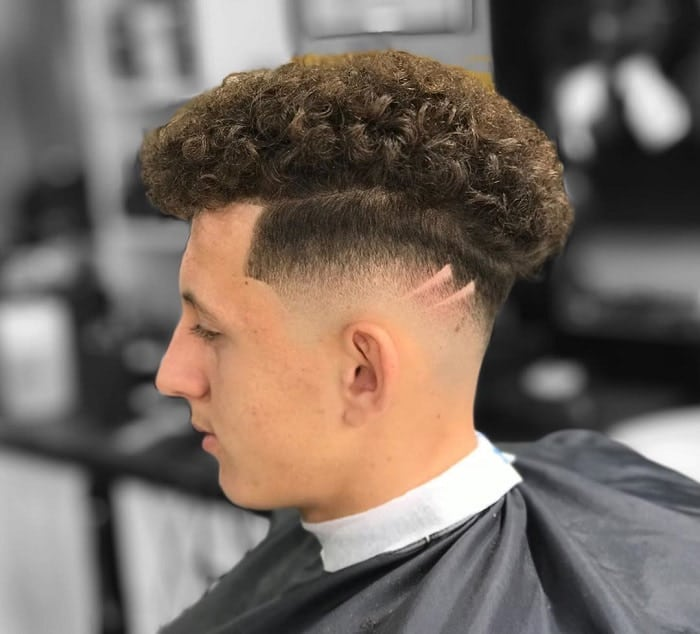 Curly Fade for Boys