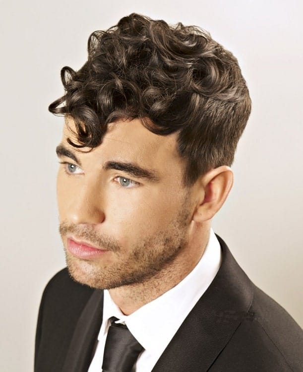 Forehead Curls for Men