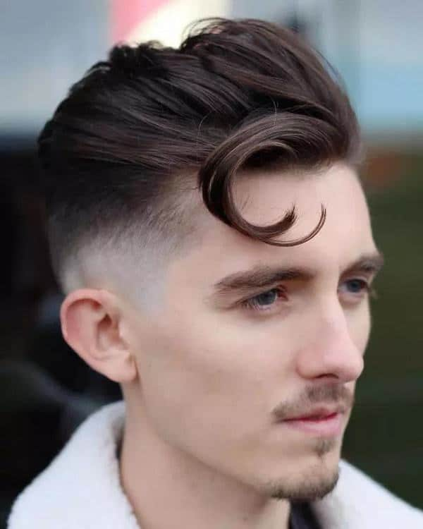 1950's trunk hairstyle