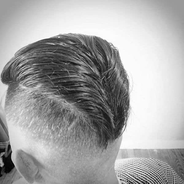 reverse trunk hairstyle of 1950's