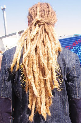 gold dreadlocks � cool mens hair