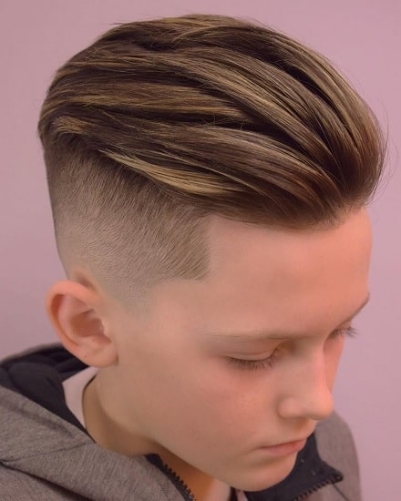 undercut hairstyles for 10 year old kid