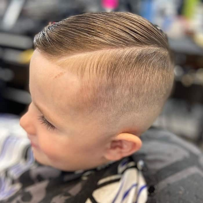 Fade for 4 Year Old Boys