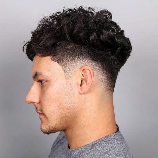 Long Curls with Fade