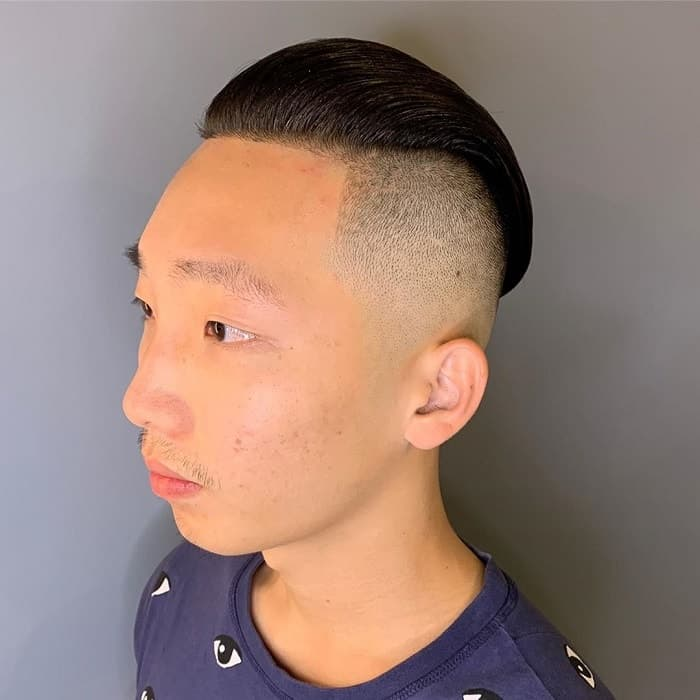 Asian Bald Fade