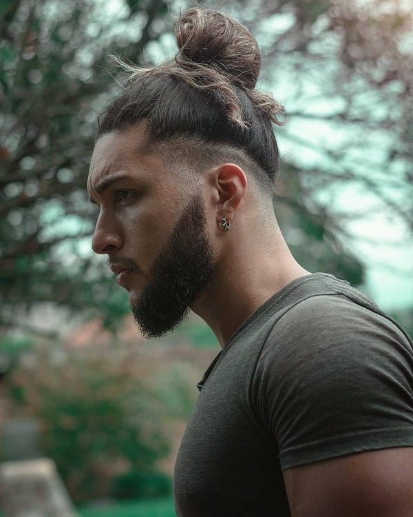 Man Bun with Undercut