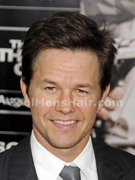 Mark Wahlberg short formal hairstyle