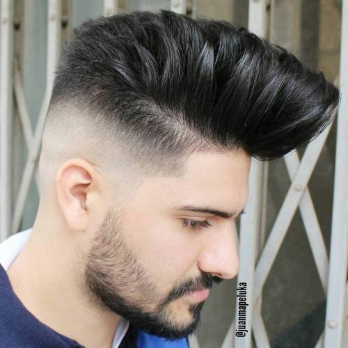 Fades in side and Long High on Top