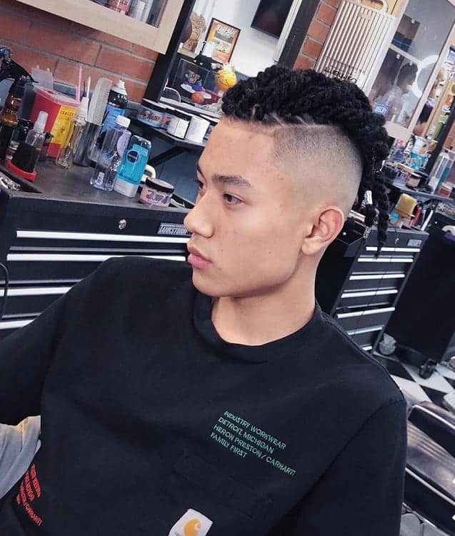 Faded Mohawk for Boys