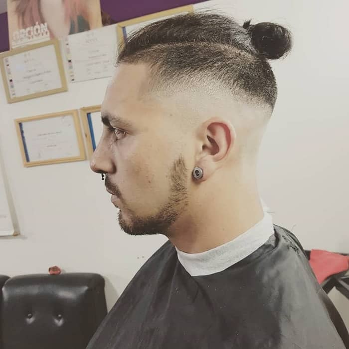 Skin Fade on Long Hair