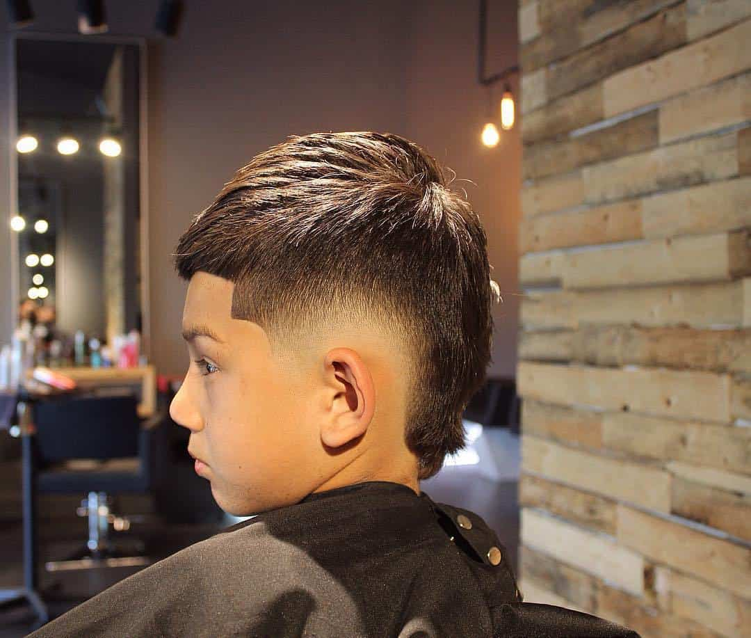 Slick & Smooth Short Faux Hawk for boys