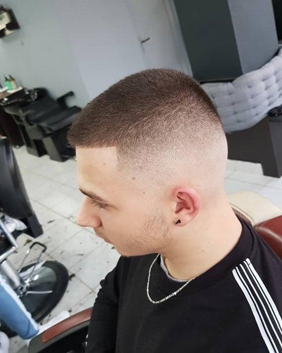 Skin Faded Crew Cut